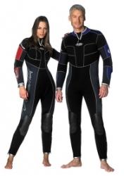 Wetsuits, Suits for scuba