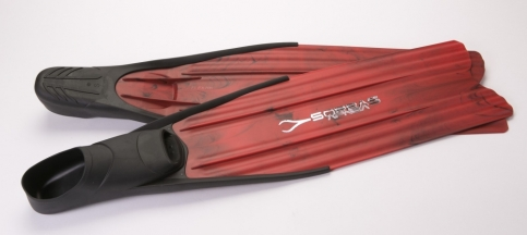 Ploutve freedivingové X-RACE RED, Soprassub