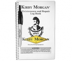 125-001 Kit, Maintenance & Repair Log Book & Pen, Kirby Morgan