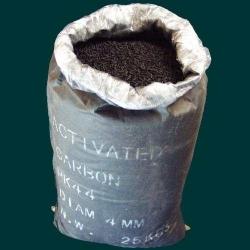 Active coal for compressors