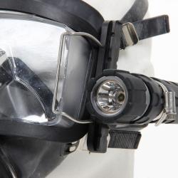 Držák lampy/kamery k celoobličejové masce AGA DIVATOR