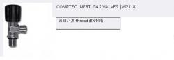 Ventil mono COMPTEC, M18/1,5 - ARGON