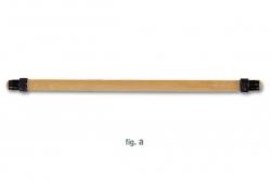 Guma k harpuně BLOND 13 mm kruhová, Imersion
