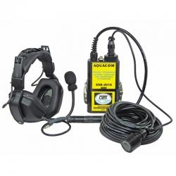 Sluchátka s mikrofonem a sondou pro SSB stanice, OTS