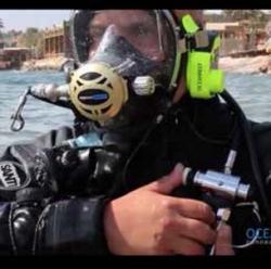 Ventil přepínací DUAL TANK VALVE pro masky Ocean Reef