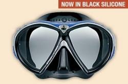 Maska FAVOLA černá lícnice, potápěčské brýle, Technisub