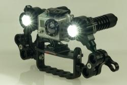 Lampa LED pro GOPRO HD 1800 Lumen SET, Lightforme