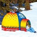 Iglú nafukovací SNOW FORT, KWIKTEK