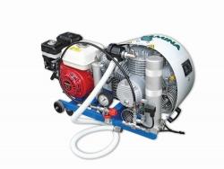 Kompresor MISTRAL M8 140 l/min s HONDA motorem, PARAMINA