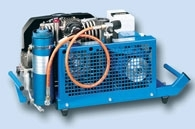 Kompresor vysokotlaký MK 120 s třífázovým elektrickým pohonem
