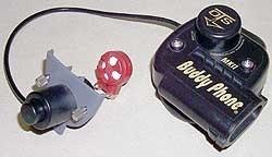 Komunikace BUDDY PHONE MK II k celoobličejové masce, OTS