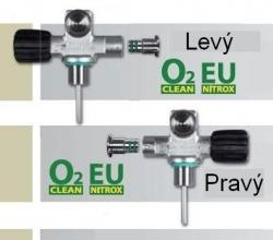 Ventil mono rozšiřitelný EU NITROX M26/2 ,Pravý a Levý