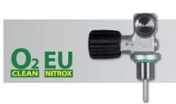Ventil mono nerozšiřitelný EU NITROX M26/2 232 Bar