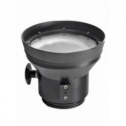 Port plochý pro objektiv Canon 15-85 mm se zoomem na pouzdro NIMAR D-SLR, NIMAR