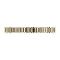"""Řemínek ocelový GoldTone pro fenix5S """"QuickFit 20"""", Garmin"""