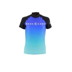 Tričko FROZEN BLUE dámské - krátký rukáv, Aqualung