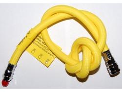 """Hadice středotlaká k automatikám 90 cm flex(oktopus) žlutá 3/8"""""""