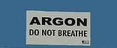 Samolepka HALCYON pro označení Argonové lahve