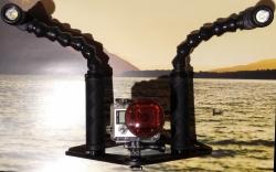 Lampy se základnou a rameny pro podvodní foto a video 2 x 10 W LED