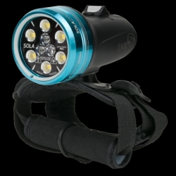 Lampa SOLA DIVE 2000 SPOT/VIDEO