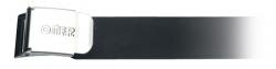 Opasek gumový s ocelovou přezkou, Omer
