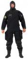 Oblek suchý VSN - přední zip s latexovou kuklou, Viking