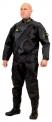 Oblek suchý VTS NYLON - přední zip s latexovou kuklou, Viking