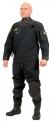 Oblek suchý VTS POLYESTER - přední zip s latexovou kuklou, Viking